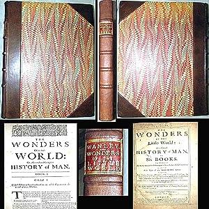 1678 WONDERS OF THE LITTLE WORLD NATHANIEL: Nathaniel Wanley