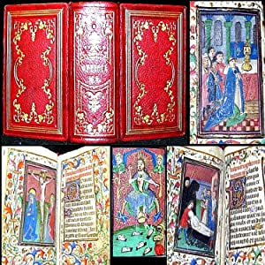 1460 INCUNABLE BOOK OF HOURS HOURS OF: No Author