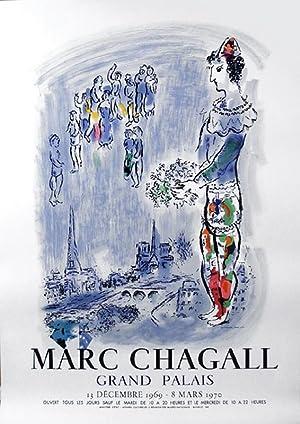 Marc Chagall, Grand Palais, Poster