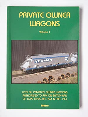 PRIVATE OWNER WAGONS Volume 1 (2nd Ed) TOPS TYPES JAA-KXX & PAA-PXX: Marshall, Andrew