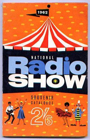 1962 NATIONAL RADIO SHOW SOUVENIR CATALOGUE