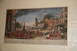 An 18thc Print of a Place Given Up to Plunder.: An 18thc Print of a Place Given Up to Plunder.