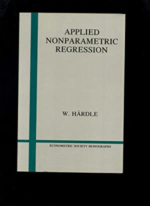 Applied Nonparametric Regression