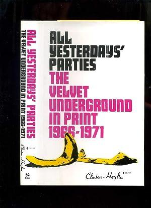 9780306813658 all yesterdays parties the velvet