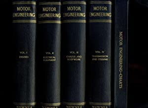 Motor Engineering, Giving Concise, Practical Information on the Efficient Servicing, Overhaul and...