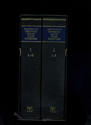 The Dictionary of Nineteenth-Century British Philosophers 2 Volumes