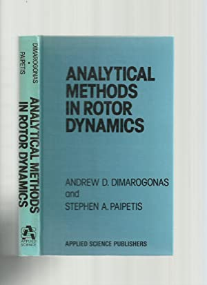 Analytical Methods in Rotor Dynamics