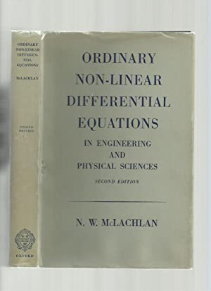 Ordinary Non-Linear Differential Equations in Engineering and Physical Sciences