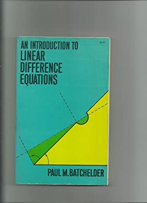 An Introduction to Linear Difference Equations