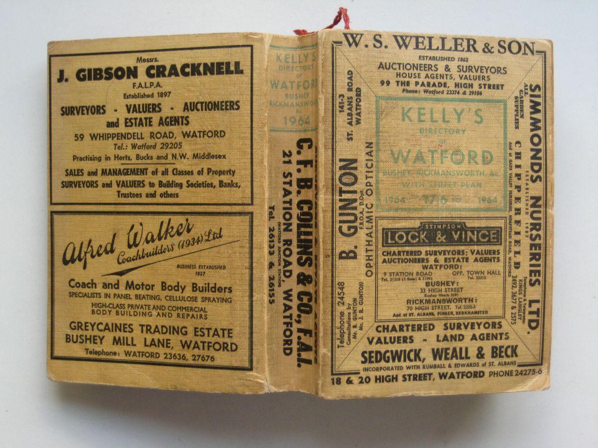 Kelly's directory of Watford: Bushey,