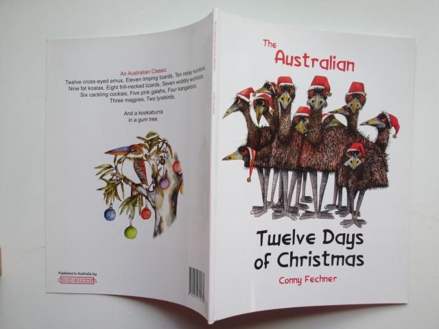 Christmas In Australia Book.The Australian Twelve Days Of Christmas