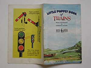 Little poppet book of trains: Davies, Gordon