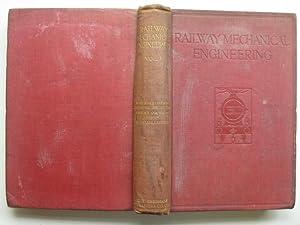 Railway mechanical engineering: volume 1: Bell, A. R.;