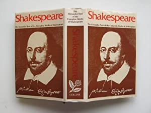 Shakespeare: the Alexander text of the complete: Shakespeare, William