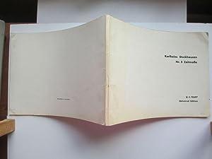 Nr. 5 Zeitmasse fur funf holzblaser partitur: Stockhausen, Karlheinz