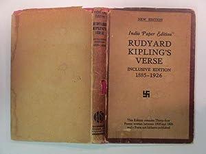 Rudyard Kipling's verse: inclusive edition 1885 -: Kipling, Rudyard