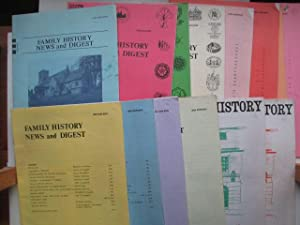 Family history news and digest: 12 issues: Palgrave, Derek A.;