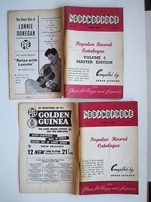 The gramophone: popular record catalogue master editions.: Jackson, Edgar (ed)
