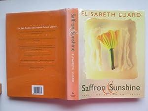 Saffron and sunshine: tapas, mezze and antipasti: Luard, Elisabeth