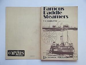 Famous paddle steamers: Hambleton, F. C.