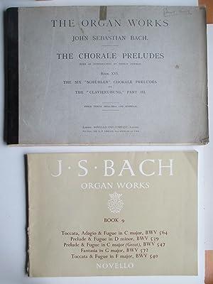 The organ works: the chorale preludes -: Bach, Johann Sebastian