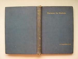 Harmony for students: Hull, A. Eaglefield