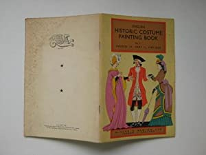 English historic costume painting book: no. 11,: Anon.