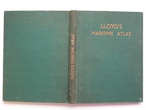 Lloyd's maritime atlas: including a comprehensive list: Hawkes, F. A.