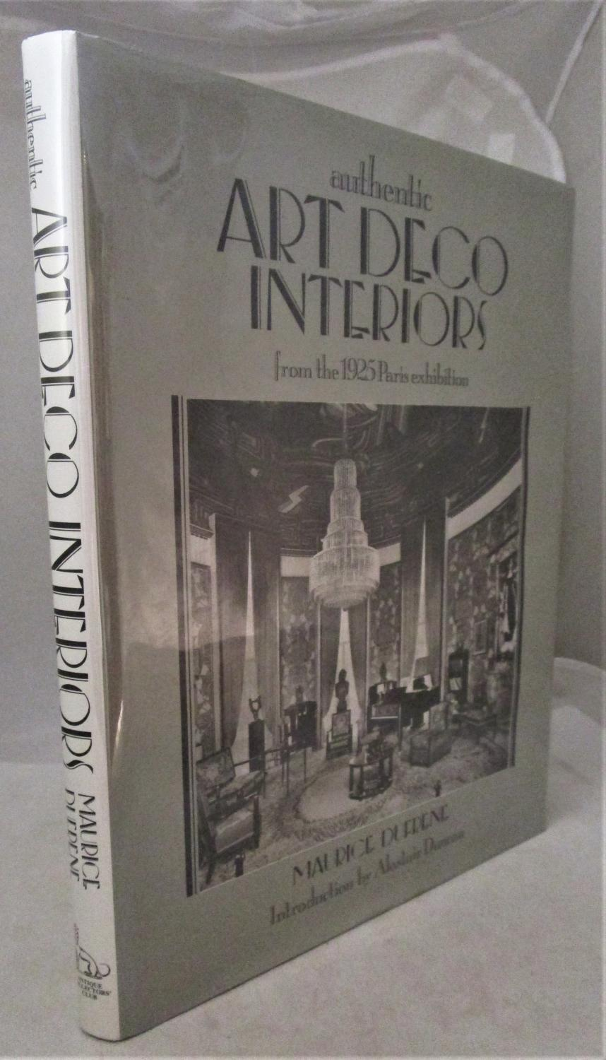 . Authentic Art Deco Interiors from the 1925 Paris Exhibition by