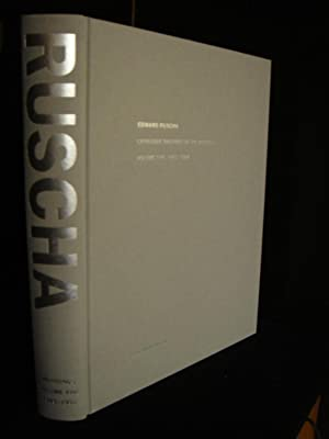 Edward Ruscha: Catalogue Raisonné of the Paintings: Volume Five 1993-1997 (SIGNED)