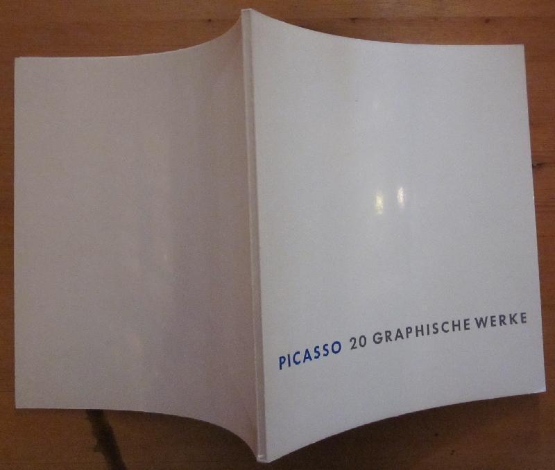 20 graphische Werke Picassos. Stiftung Daniel-Henry Kahnweiler.: Picasso.- Ott, Brigitte: