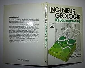 Ingenieurgeologie für Bauingenieure.: Klengel, K. Johannes und Otfried Wagenbreth: