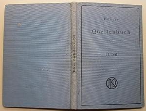Quellenbuch zur jüdischen Geschichte und Literatur. Nur: Höxter, Julius: