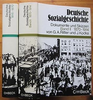 Deutsche Sozialgeschichte. Dokumente und Skizzen. Band 1: Pöls, Werner; G.