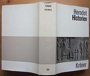 Historien. Deutsche Gesamtausgabe. Deutsch von A. Horneffer.: Herodot: