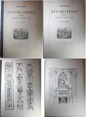 Décorations intérieurs Style Louis XIV composées par: Bérain, Jean: