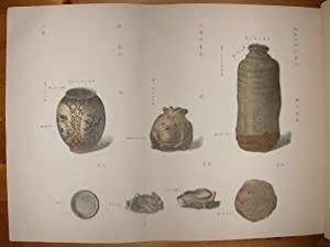 Kwan ko dzu setsu. Notice historique et: Keramik.- Noritané, Ninagawa: