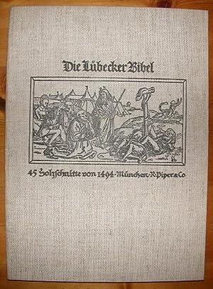 Die Lübecker Bibel. Mit 45 Abbildungen.: Friedländer, Max Jacob