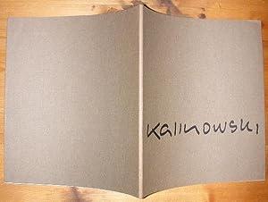 Horst Egon Kalinowski. Katalog zur Ausstellung im: Kalinowski.- Fuchs, Heinz