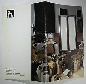 K. F. Dahmen. Katalog zur Ausstellung der: Dahmen.- Motte, Manfred