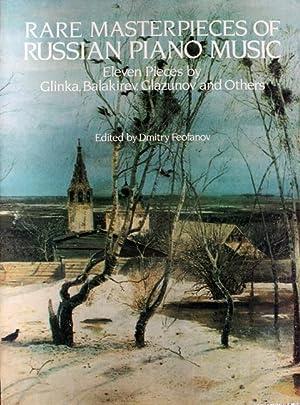 Rare Masterpieces of Russian Piano Music. [11: Feofanov, Dmitry (Hsg.)