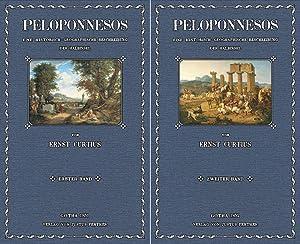 Peloponnesos; Erster und zweiter Band: Curtius, Ernst Robert