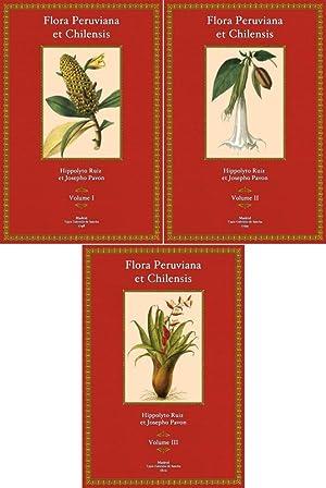 Flora Peruviana et Chilensis, Tomus I- III: Hippolyto Ruiz et Josepho Pavon