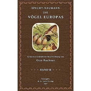Die Vögel Europas, Band 2: Specht-Naumann