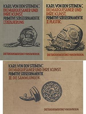 Die Marquesaner und ihre Kunst; Band 1-: Steinen, Karl, von