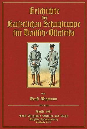 Geschichte der Kaiserlichen Schutztruppe