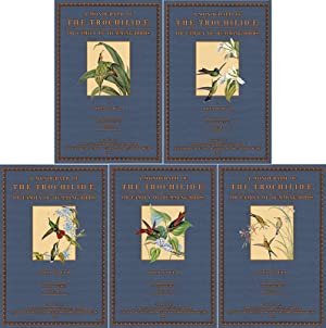A Monograph of the Trochilidae or Hummingbirds; Volume 1- 5: Gould, John