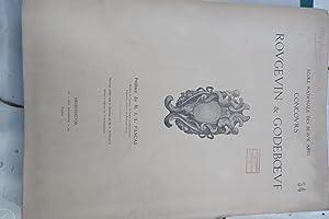 CONCOURS ROUGEVIN & GODEBOEUF - Ecole Nationale des Beaux Arts - CONCOURS D'ORNEMENT ET D&...