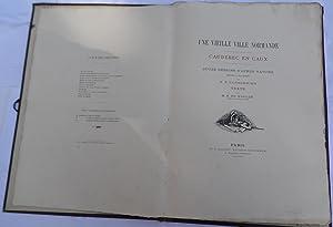 CAUDEBEC EN CAUX - DOUZE DESSINS D'APRES: MAULDE (M. R.