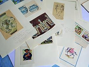 22 ETUDES ART DECO DECORS REGIONAUX BRETAGNE,: ADRIEN AUGUSTE LEDUC
